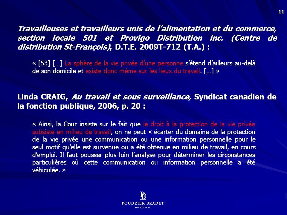 Aubry c. Éditions Vice-Versa, [1998] 1 R.C.S. 591 :